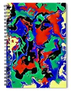 Colours Of Joy Spiral Notebook