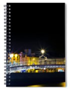 Colours Of The Night Spiral Notebook