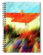Colours Of The Wind Spiral Notebook