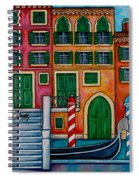 Colours Of Venice Spiral Notebook