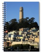Colt Tower, San Francisco, California Spiral Notebook