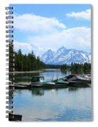 Colter Bay On Jackson Lake  Spiral Notebook