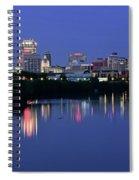 Colts Blue Hour Night Spiral Notebook