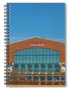 Colts Stadium Spiral Notebook