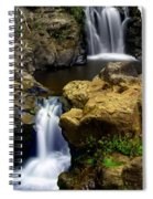 Columba River Gorge Falls 2 Spiral Notebook