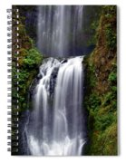 Columba River Gorge Falls 3 Spiral Notebook