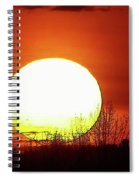 Columbia Gorge Sunset Spiral Notebook