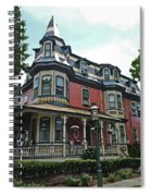 Columbia House Watercolor Spiral Notebook