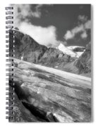 Columbia Ice Field Spiral Notebook