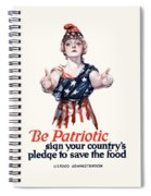 Columbia Invites You To Save Food Spiral Notebook