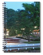 Columbia Lakefront Panorama Spiral Notebook