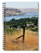 Columbia River - Biggs And Maryhill State Park Spiral Notebook