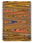 Columbia River Abstract #8045wpsws Spiral Notebook