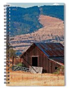 Columbia River Barn Spiral Notebook