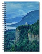 Columbia River Gorge Panoramic Spiral Notebook