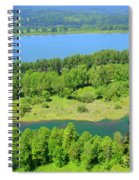Columbia River Gorge View Spiral Notebook