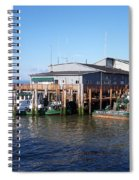 Columbia River Port Spiral Notebook