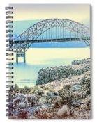 Columbia River Vantage Bridge Spiral Notebook