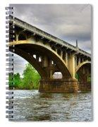 Columbia S C Gervais Street Bridge Spiral Notebook