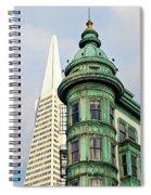 Columbus Avenue - San Francisco, California Spiral Notebook