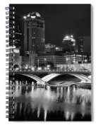 Columbus Black Night Spiral Notebook