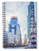 Columbus Circle Spiral Notebook