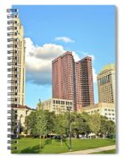 Columbus From The Park Spiral Notebook