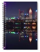 Columbus Ohio Reflecting Nicely Spiral Notebook