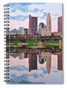 Columbus Ohio Reflects Spiral Notebook