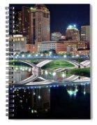 Columbus Over The Scioto Spiral Notebook