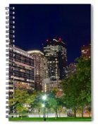 Columbus Park Boston View Spiral Notebook