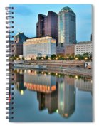 Columbus Squared Spiral Notebook