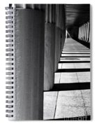 Columns In Athens Spiral Notebook