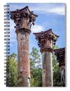 Columns Of Windsor Ruins Spiral Notebook