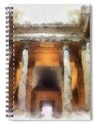 Columns Spiral Notebook