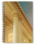 Columns To Heaven Spiral Notebook