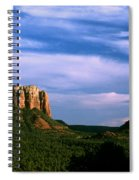 Colurt House Butte And Bell Rock Spiral Notebook