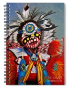 Comanche Dance Spiral Notebook