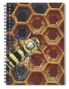 Comb Half Full Spiral Notebook