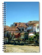 Combarro Village Waterfront Panorama Spiral Notebook