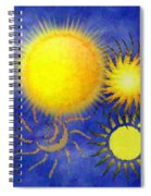 Combating Suns Spiral Notebook
