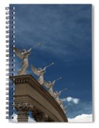 Come Blow Your Horn - Angels And Trumpets - Caesars Palace Las Vegas Spiral Notebook