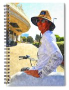 Come Ride With Me Spiral Notebook