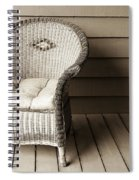 Come Sit With Me Spiral Notebook