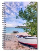 Come To Curacao Spiral Notebook