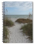 Come To The Beach Spiral Notebook