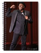 Comedian Arsenio Hall  Spiral Notebook