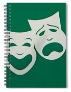 Comedy N Tragedy Original Spiral Notebook