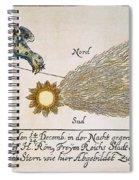 Comet, 1664 Spiral Notebook