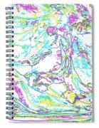 Cometogether Spiral Notebook